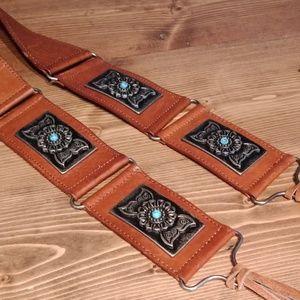 Santini leather belt